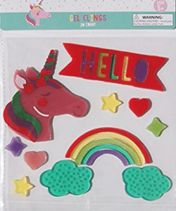 gel window stickers - travel toys