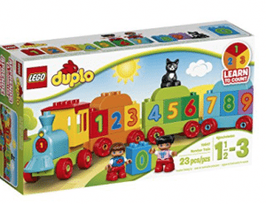 Duple number train - best travel toys