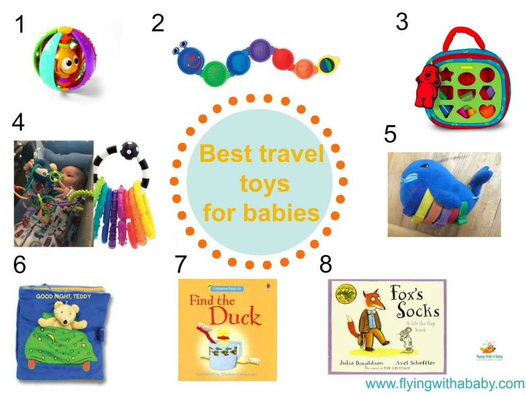 Travel toys for babies