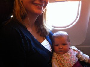 Flying with a 3 Month Old, flying with a baby