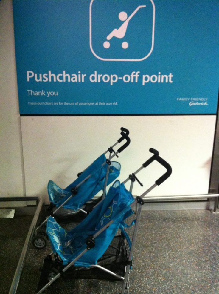 Which Airports/Airlines Provide Courtesy Strollers?