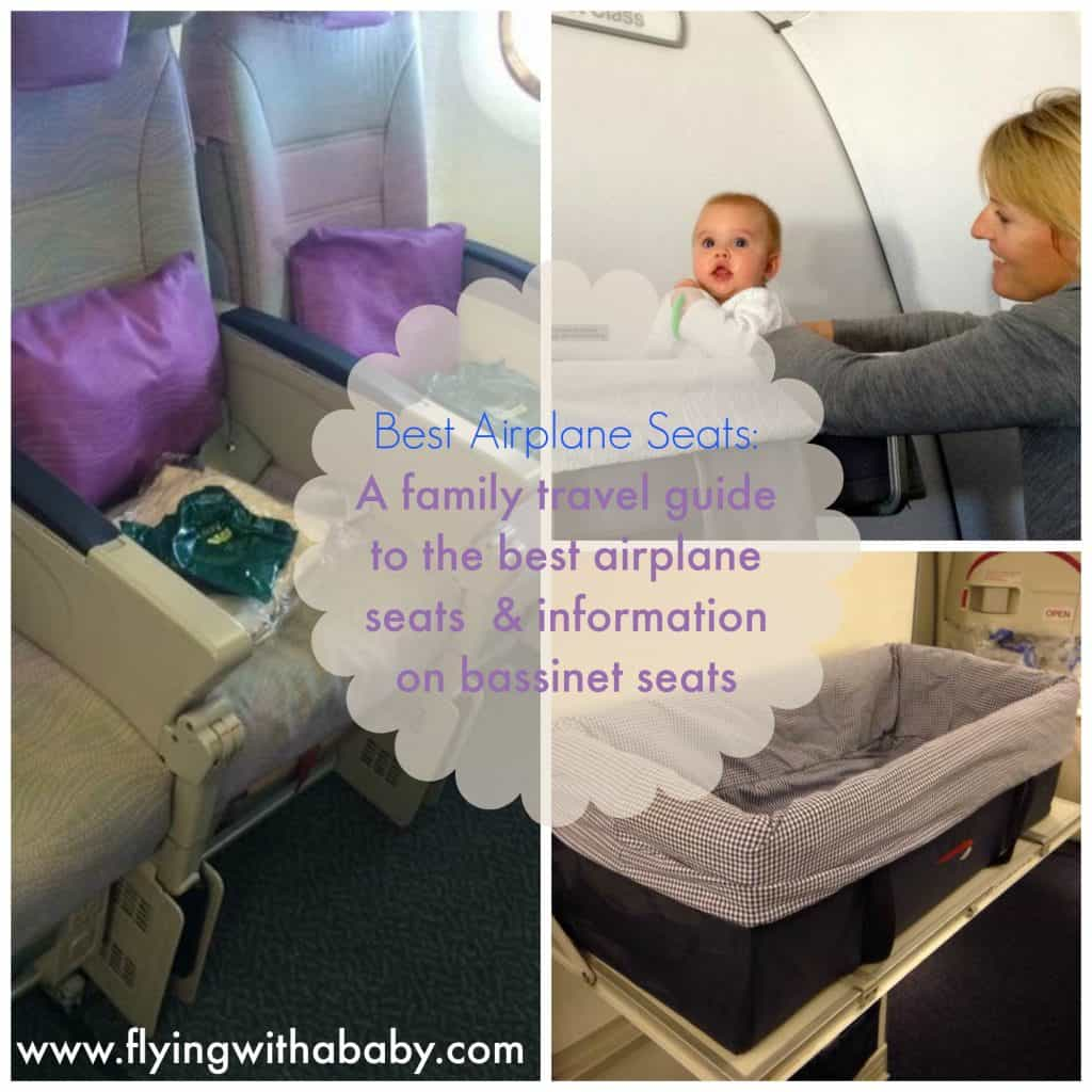 Baby bed airplane - Best Airplane Seats Baby Bassinet Airline Family Travel Best Airplane Seats