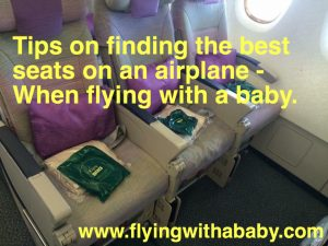 Best airline seats, flying with children, baby, toddler