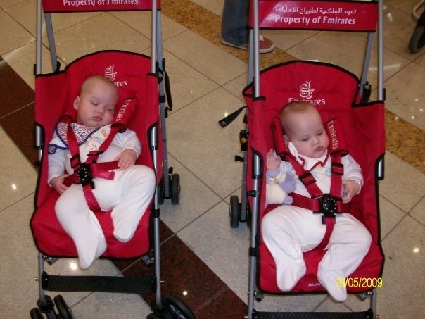 Flying With Twins Or A Baby And Toddler? Some Extra Information.