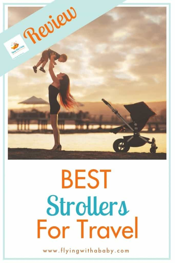 Want to know which is the best travel stroller to take on your trip this year? Here's my round-up of some of the top strollers for travel, (also known as buggies and pushchairs) Guide includes what makes them so great for family travel. #familytravel