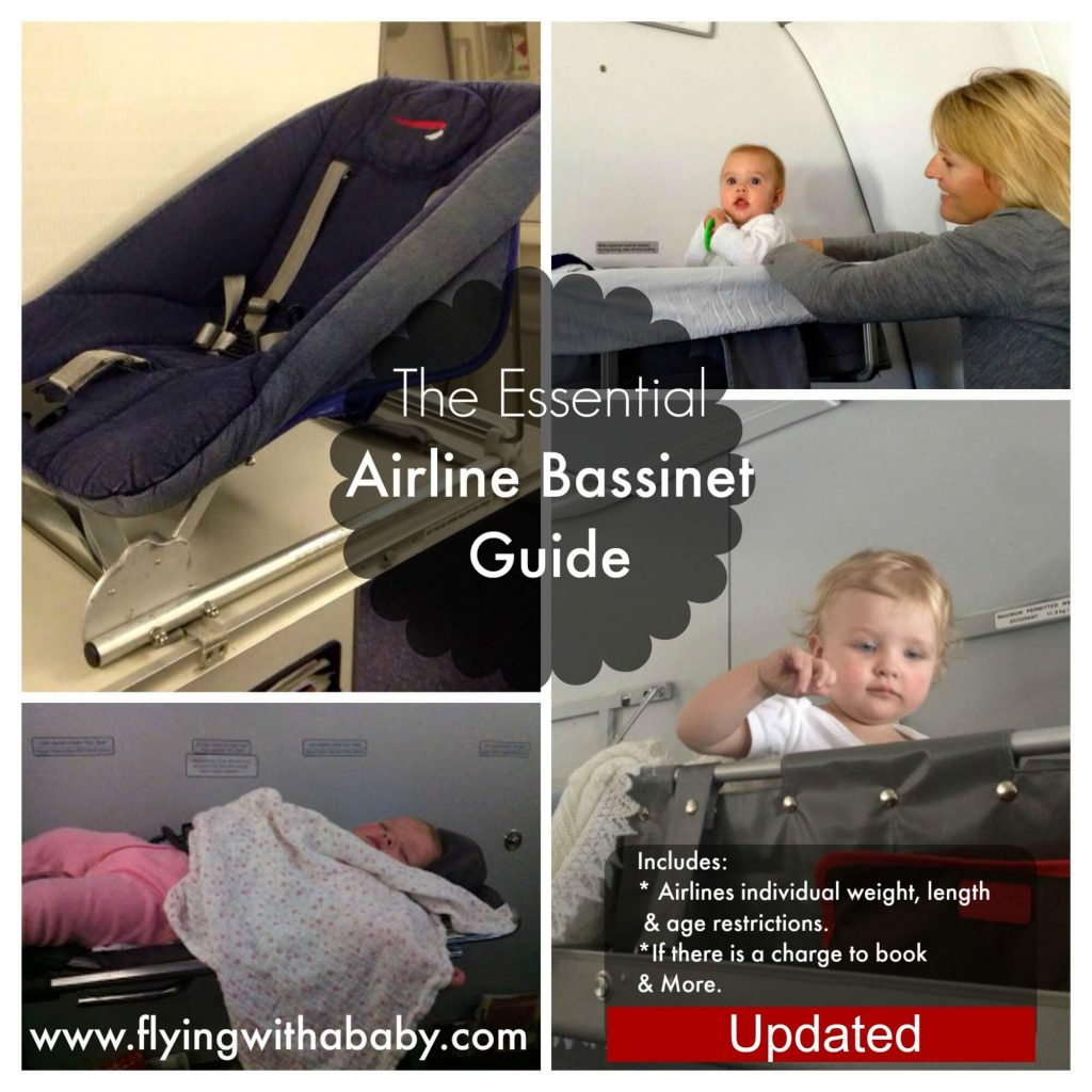Airplane Bassinet Seats: A guide to airline bassinet seat
