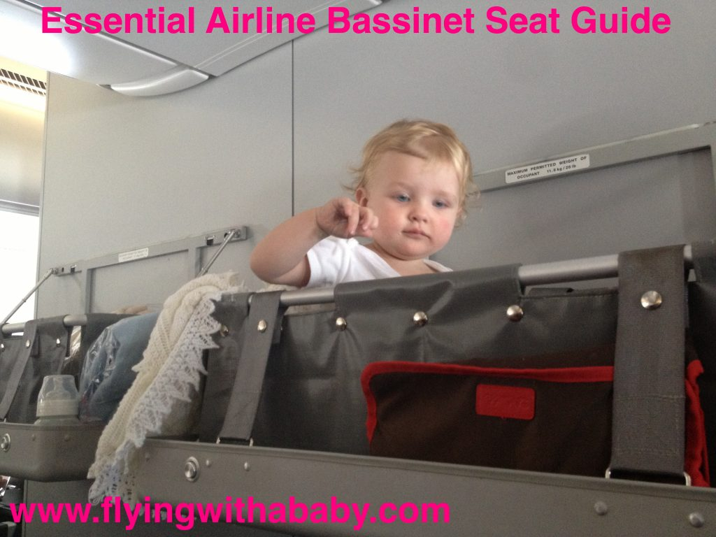 Baby bed airplane - Airline Bassinet Seat Qantas Bassinet Sky Cot