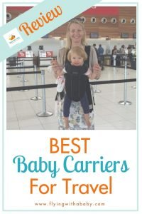 A review of the best baby carriers for travel. Perfect for when travelling with babies and young children #familytravel