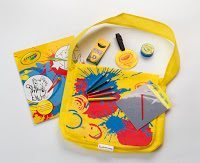 Qantas crayola kids kit