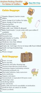 list of items to pack for vacation