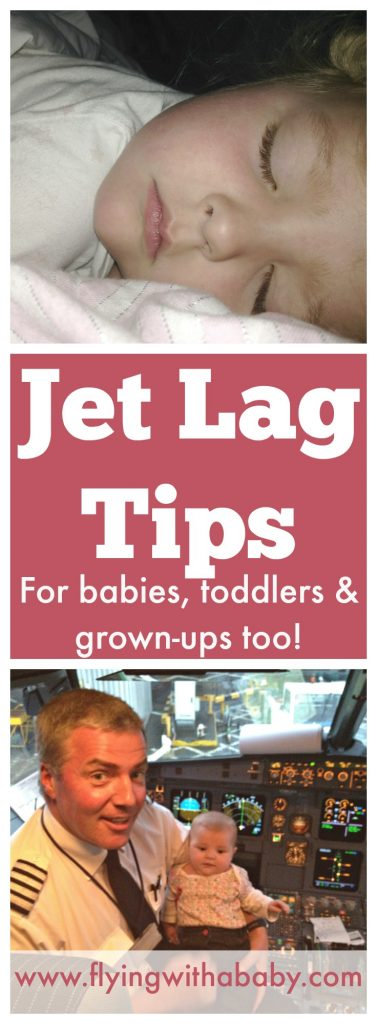 Tips To Minimise Jet Lag For Babies, Toddlers, Kids and Grown-Up's My old job had me flying through several times zones in a month. It was certainly easier managing just my jet lag, but after flying with a baby and toddler to several long haul destinations, including The Big One; UK to Australia. Here are some general jet lag tips that have helped us manage jet lag symptoms, followed by specific tips for jet lag with babies, toddler and older kids. jet lag tips #flyingwithababy #familytravel #traveltips