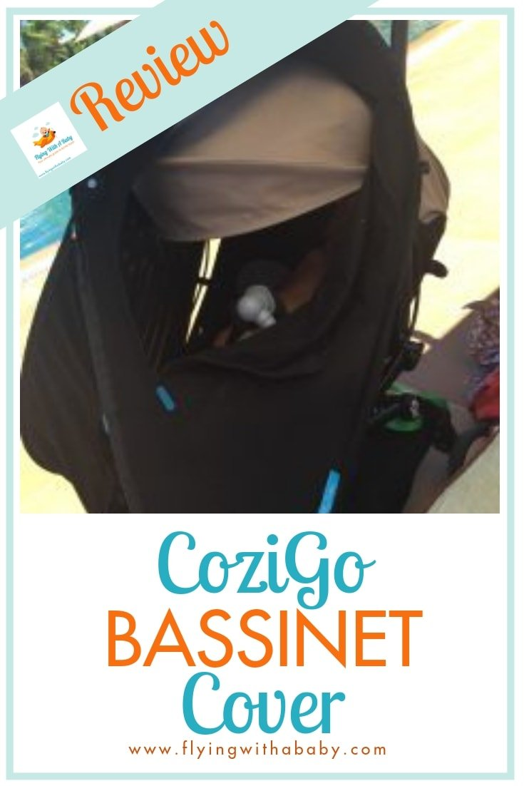 We road test the CoziGo (formerly Fly Babee) bassinet cover - ideal for travelling and keeping baby out of the sun #ad #familytravel
