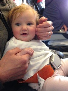 Infant lap belt CRD, Car Seats & Child Restraint Devices (CRD) On An Airplane