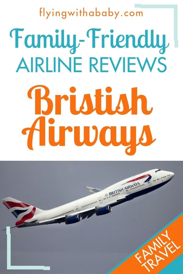 British Airways Review: see what family-friendly features this well-known airline has to offer families who are travelling with kids #familytravel #airlinereviews