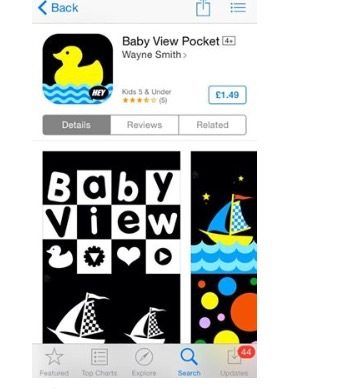 Best Apps For Babies & Toddlers