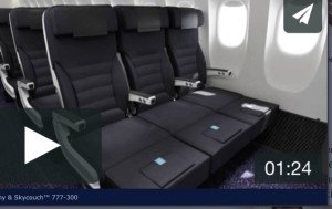 Airline baby and child amenities