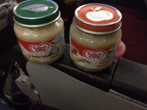 Malaysian Airlines Review baby food