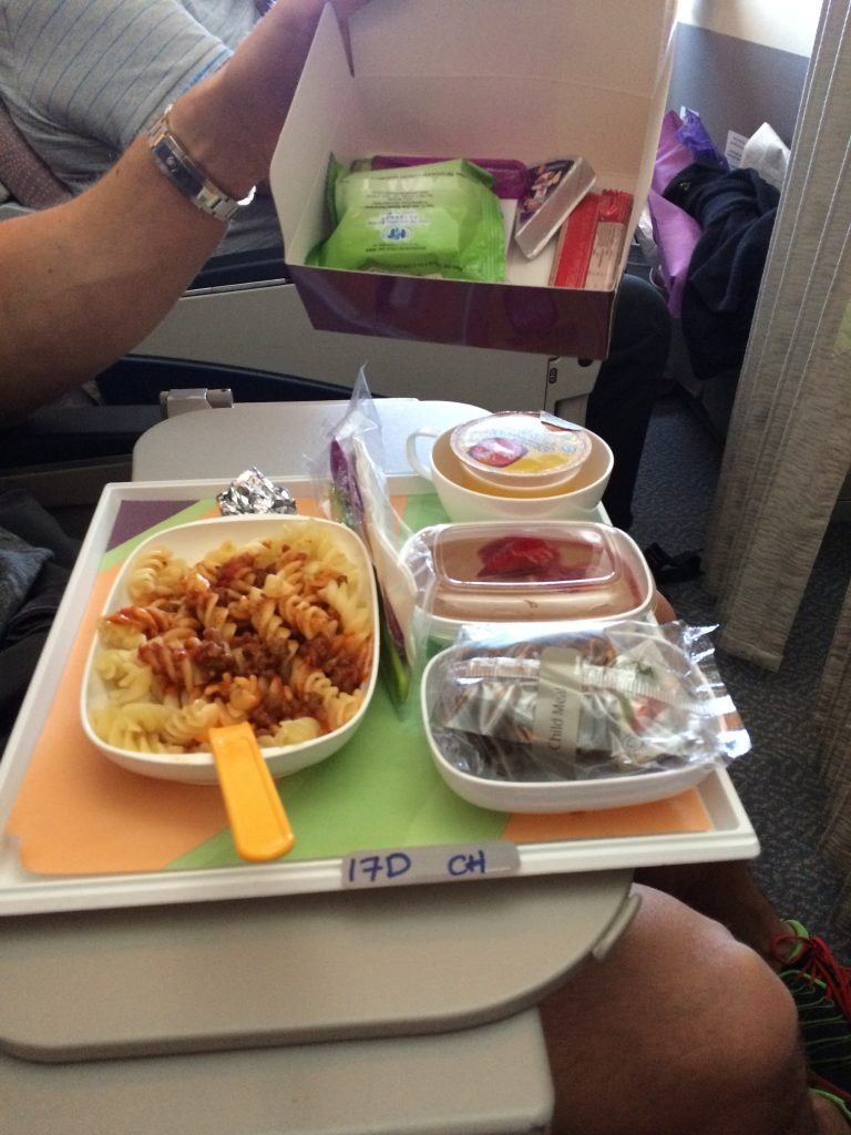 Ordering baby child meals, emirates airline. airline meals