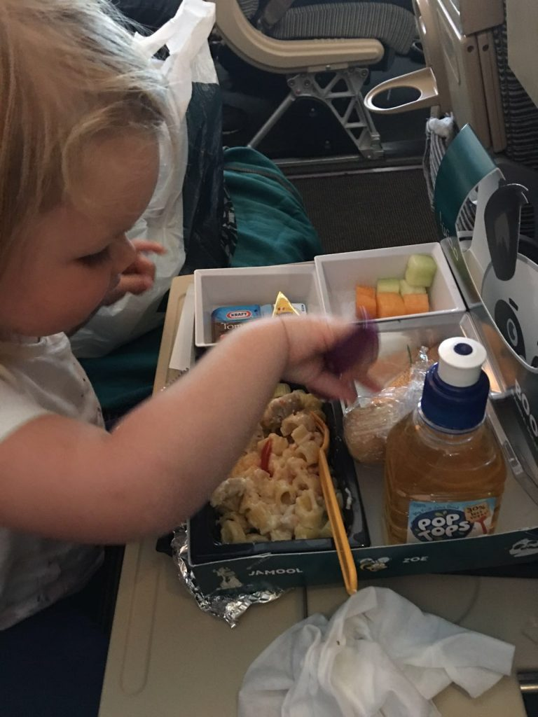 ordering baby child meals etihad airways