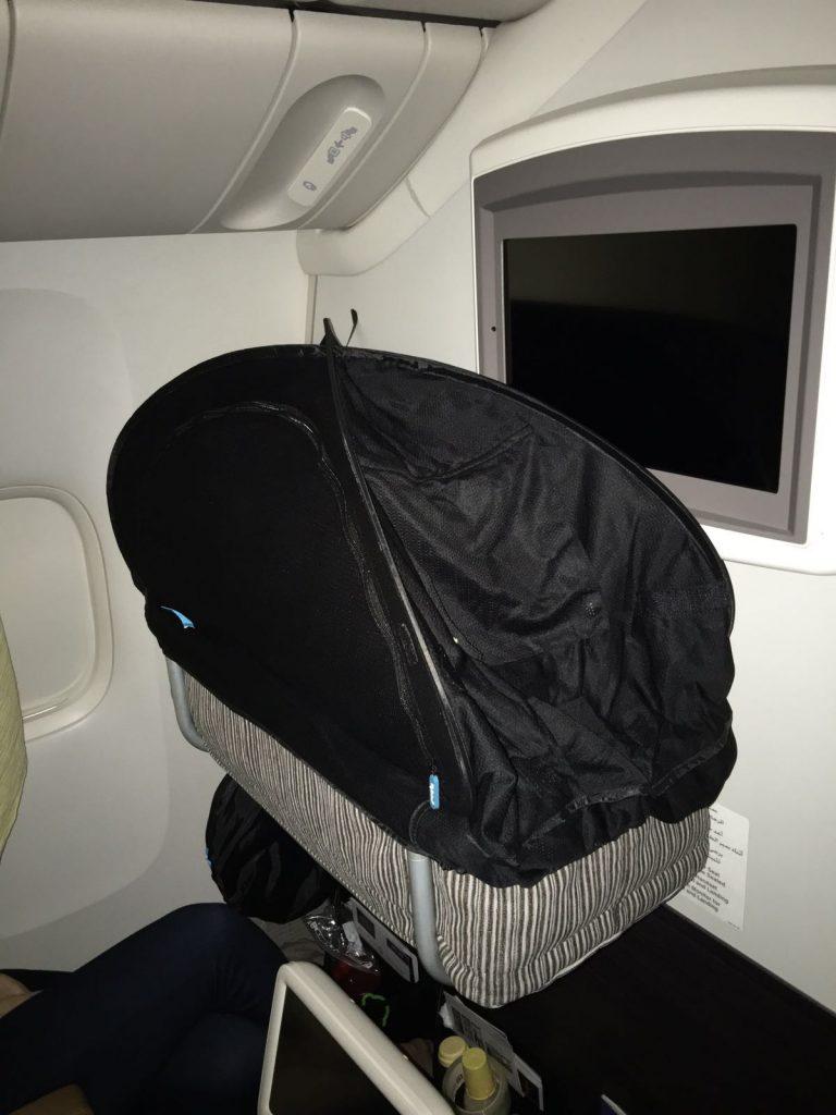 CoziGo, Fly Babee, Etihad bassinet, airline bassinet seat