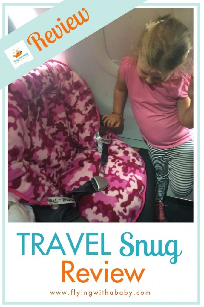 If you need to ensure your little one travels in comfort, try the Travel Snug - we reviewed it here! It may help them sleep on a plane too! #AD #FamilyTravel