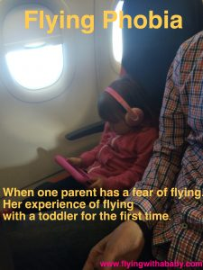 Fear of flying, flying phobia toddlers, travel, holiday, baby