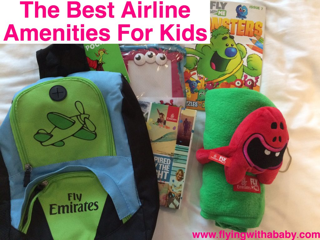 Best Airline Amenities for Kids