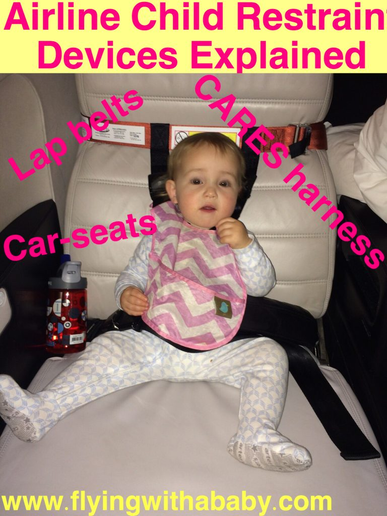 Airplane Restraint Devices: Car Seats, CARES Harness & Lap Belt Rules