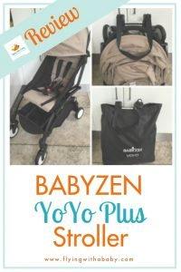 BabyZen YoYo Plus travel stroller review #familytravel
