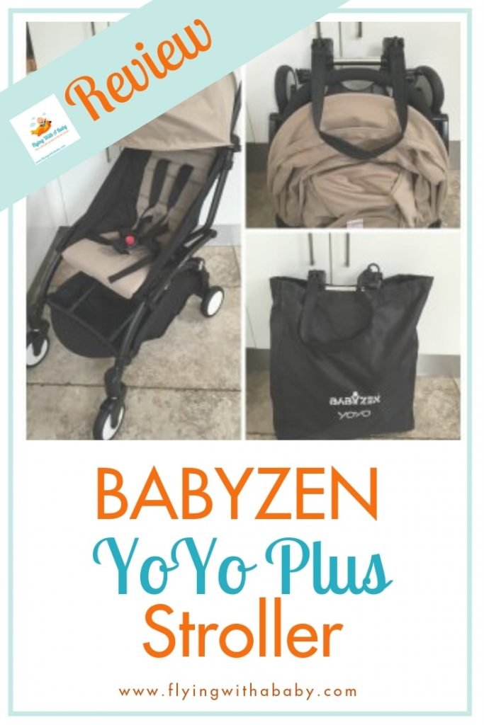 BabyZen YoYo Plus travel stroller review  pin #familytravel
