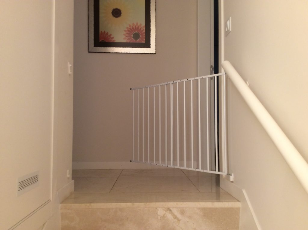 stair gate, Monte Santo Resort review, family friendly, hotel