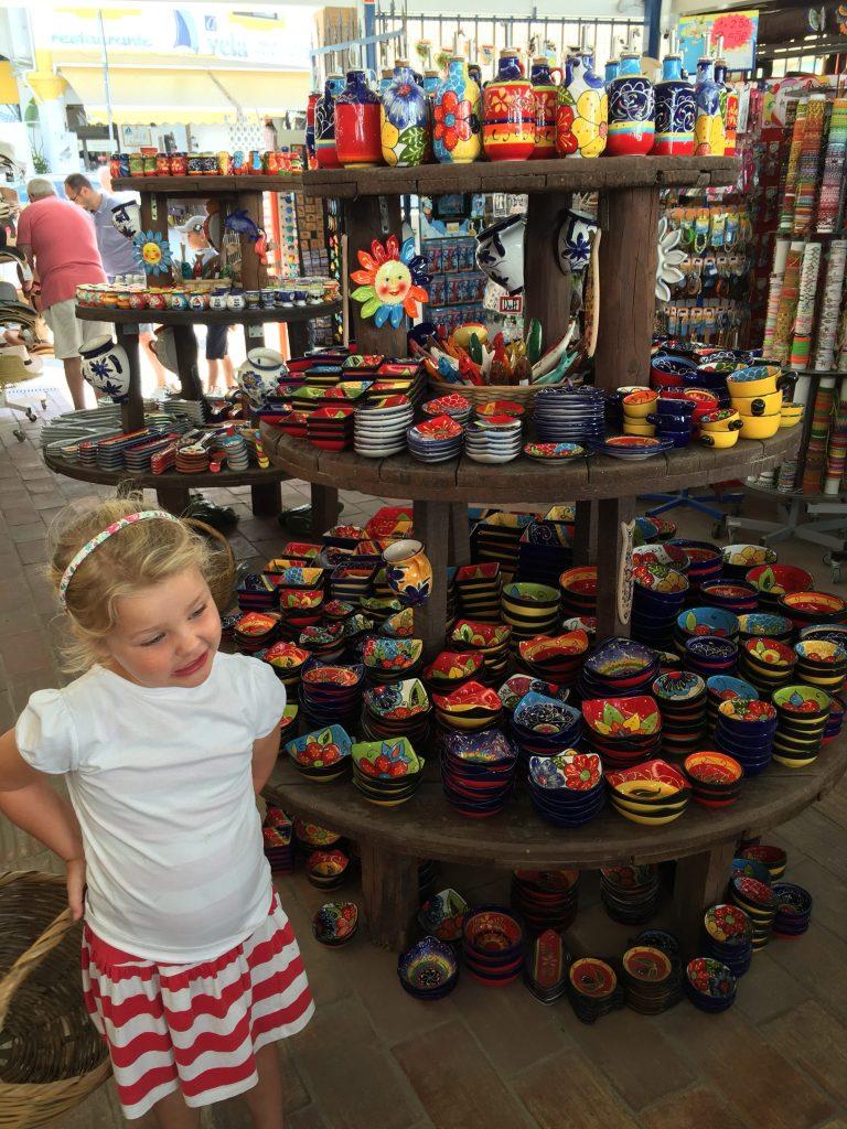 Family Trip Carvoeiro, Algarve, pottery