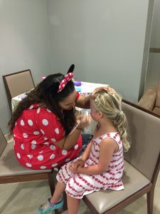 facepainting, monte santo resort, Algarve, Portugal