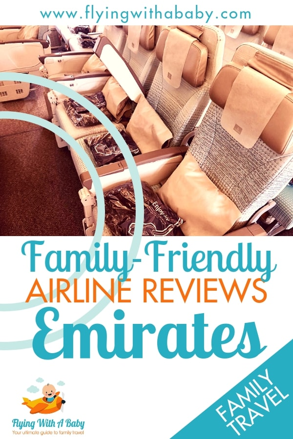 Emirates Airline Review - how does this airline giant measure up when it comes to flying with kids? Find out in my review... #flyingwithababy #familytravel # airlinereviews