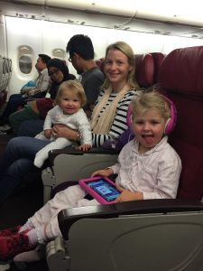 Malaysia Airlines with kids