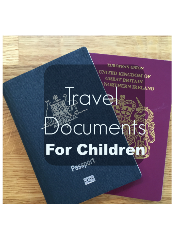 Travel Documents For Children