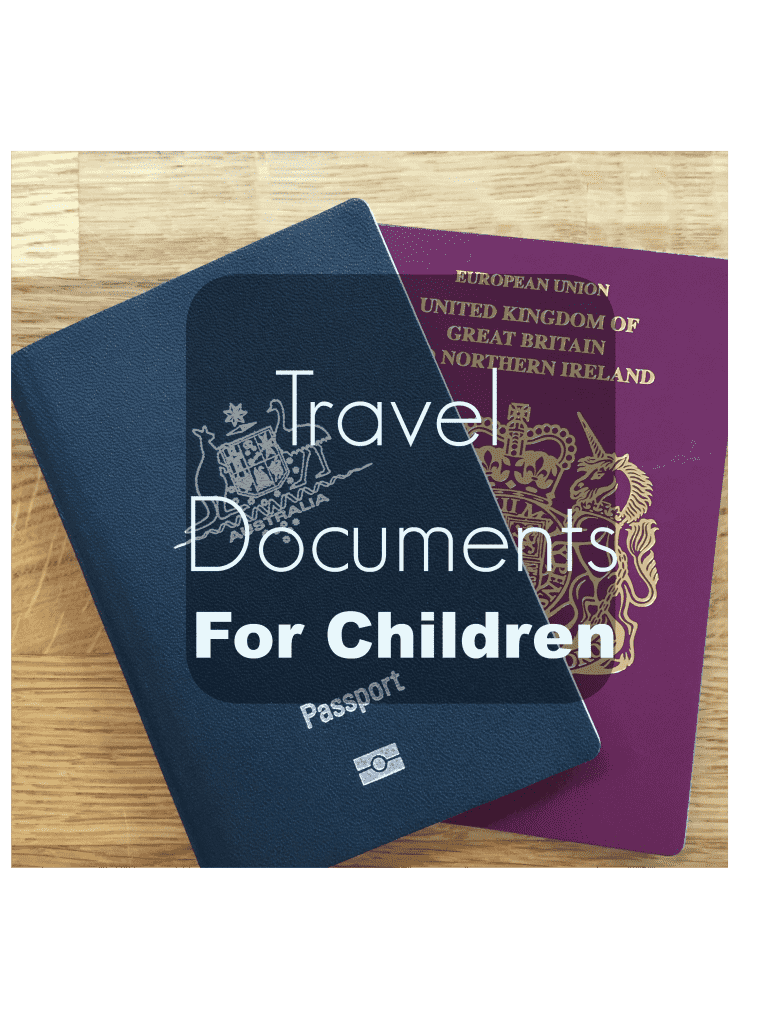 Travel Documents Do Children Need Id To Fly Family Travel Rules