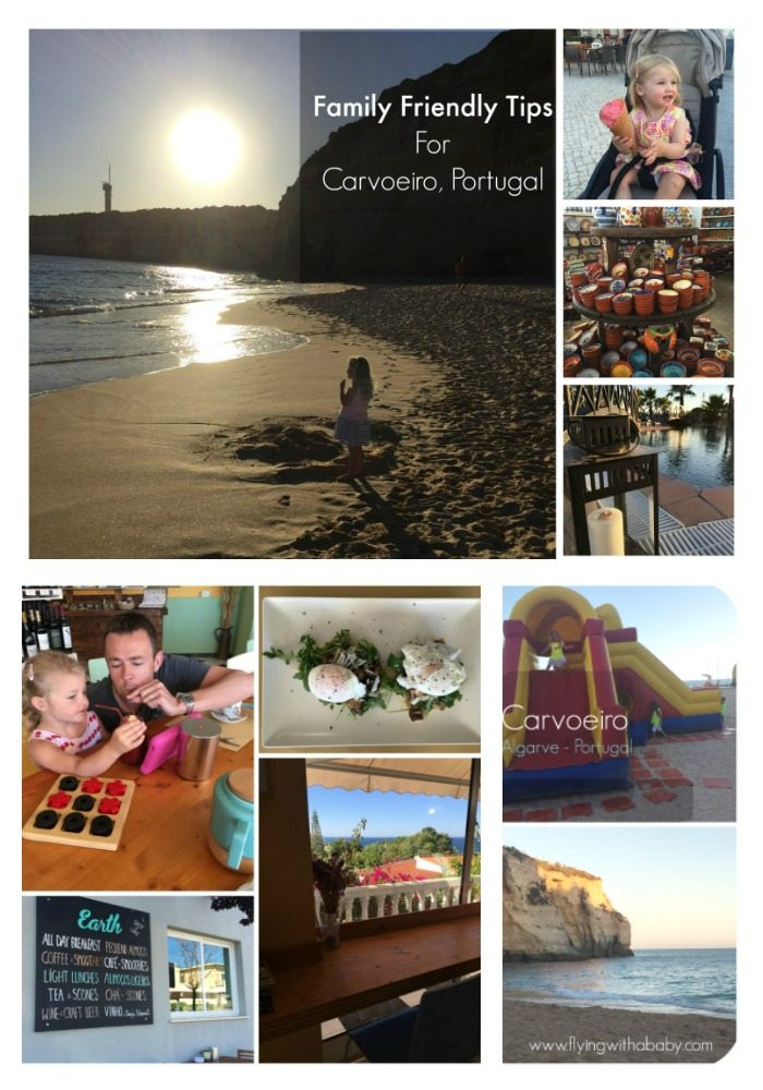 Family Trip Carvoeiro. The beautiful family friendly town in the Algarve, Portugal.