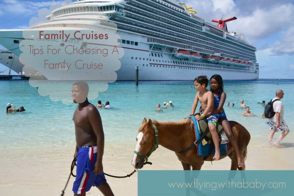 Family Cruises - What To Consider On A Family Cruise I've recently been hearing a lot about family cruises, and it sparked my curiosity. I've actually never considered one up until now, but I can certainly see the appeal. Visiting several countries during one trip, amazing ships to cater to your every whim and dedicated kids' clubs. Family cruises are not only child friendly on- board but the destinations and tours are often especially designed for families too.