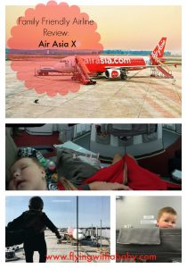 Family Friendly Airline Review: Air Asia Air Asia review. How family friendly is Air Asia X? Information on the booking process, food and entertainment and bassinet seats