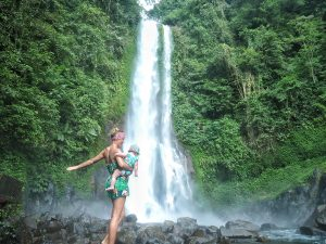 Indonesia With Kids : Bali And Gili waterfall