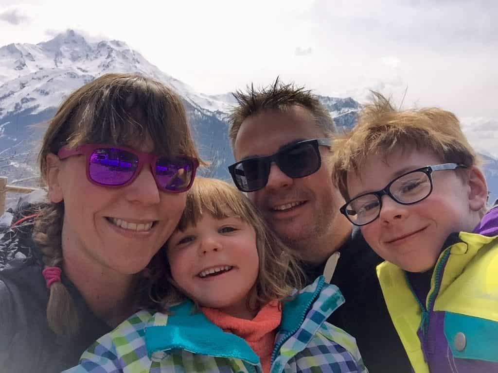 La Rosiere Ski Holiday With Kids, Family Ski Holiday: On The Piste With A Family La Rosiere - France