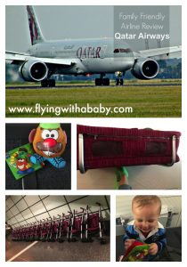 Qatar Airways review. How family friendly are Qatar Airways? What family friendly facilities do they provide and more.