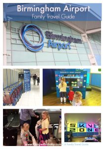 Birmingham Airport Family Travel Guide. Information to help you navigate Birmingham Airport with Kids, including all the family friendly facilities they offer.