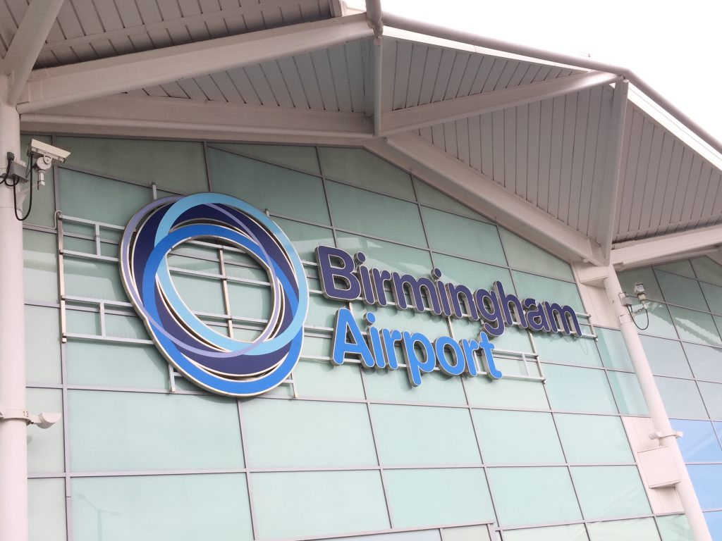 Birmingham AIrport Guide, family travel tips for Birmingham Airport including all Sky zone for kids, ordering from Boots Birmingham airport and more.