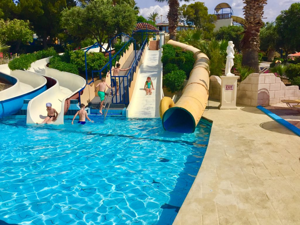 Hersonissos, Crete, water City Water Park