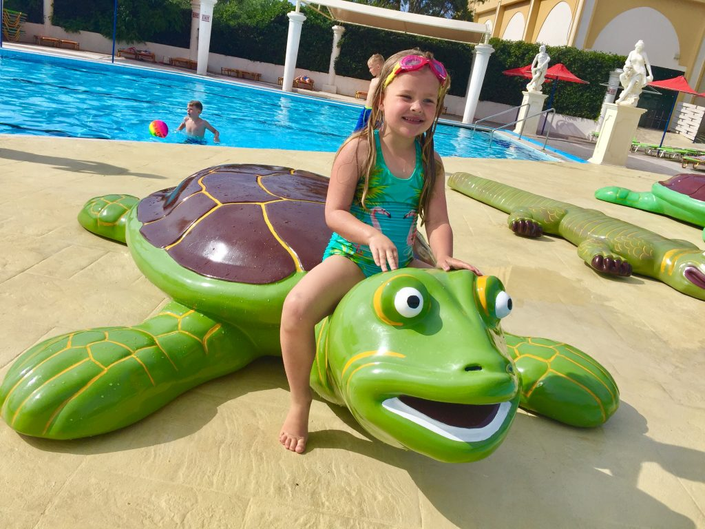 Hersonissos, Crete, water City Water Park, Hersonissos, Crete With Kids