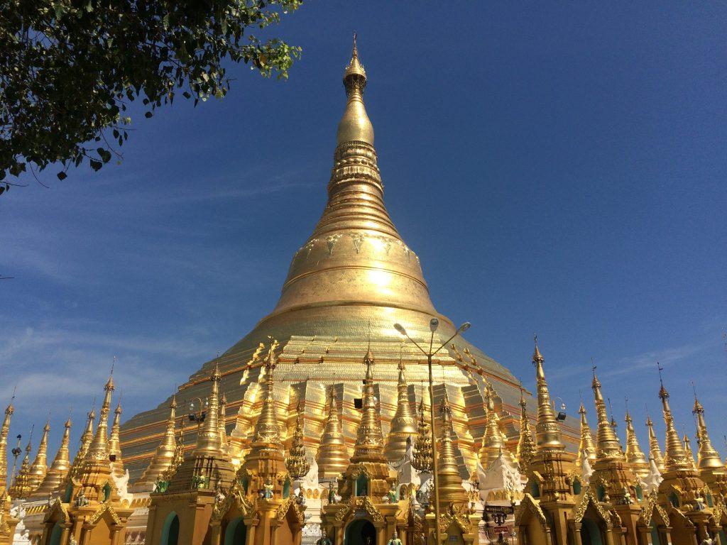 Yangon; Shwedagon Pagoda; Family Trip Burma