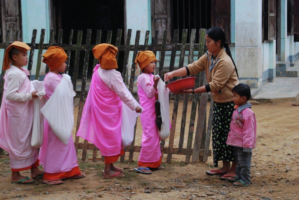 Family Trip Burma