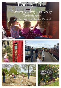 Nene Valley Railway. The Nene Valley Railway is a fantastic day out for little (and big) ones. Dogs can even come too! The historic steam or diesel trains run to set timetables throughout the year and travel between Yarwell on the Northamptonshire border, through to Peterborough in Cambridgeshire. The stops in-between are Wansford, Ferry Meadows, and Orton Mere.